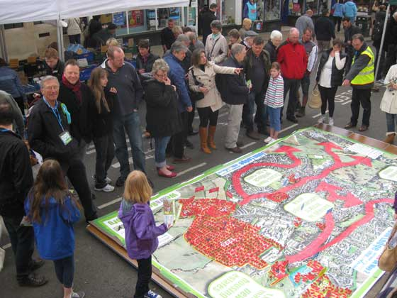 3D Map Highlights Resident Concerns over Uttlesford District Council Housing Plans