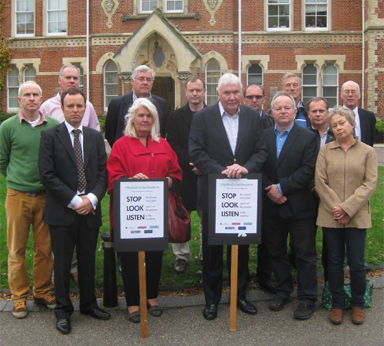 Uttlesford United Residents is a coalition of residents groups, Town and Parish Councils, and individuals from across the District, including WeAreResidents.org, Save Newport Village, the Joint Parish Councils Steering Group (Save Our Villages) Save Stansted Village and Takeley Parish Council.