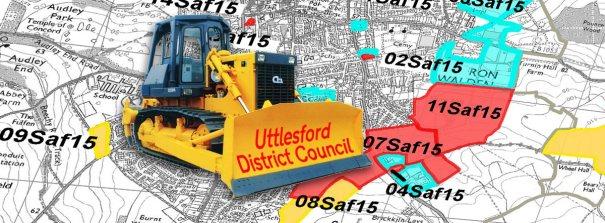Banner: UDC digger in Saffron Walden