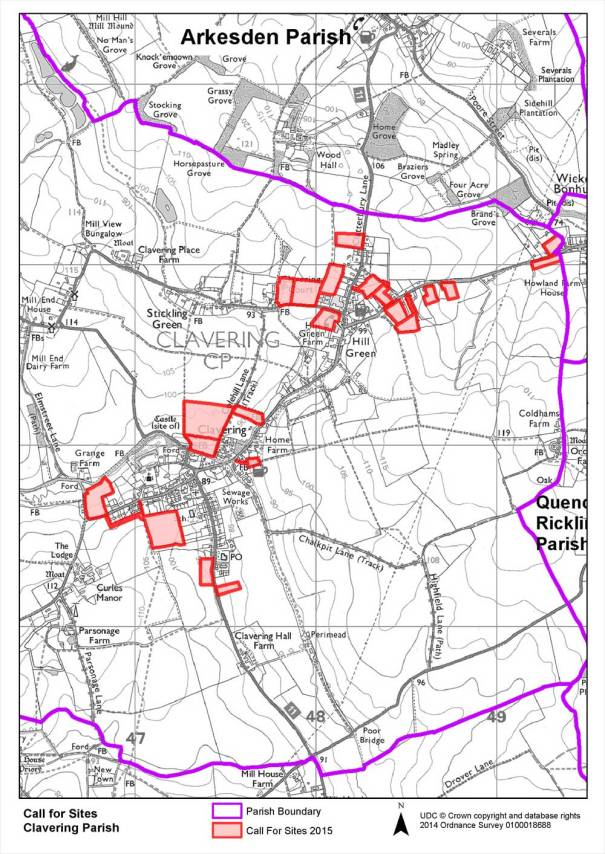 Clavering Local Plan