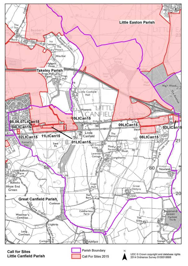 Little Canfield Local Plan