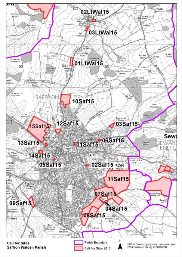 Saffron Walden, Essex Local Plan