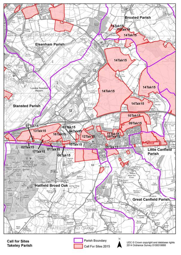 Local Plan Takeley