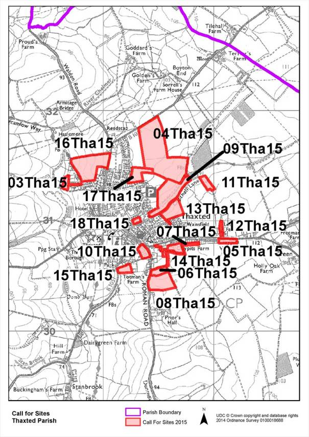 ThaxtedLocal Plan